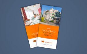 Hotelservice-Broschüre