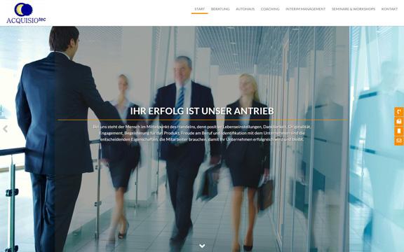 Website acquisiotec.de