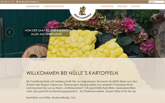 Website nuelle-kartoffeln.de
