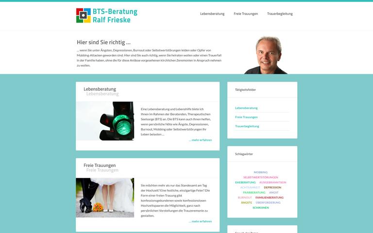 Screenshot Website bts-ralffrieske.de