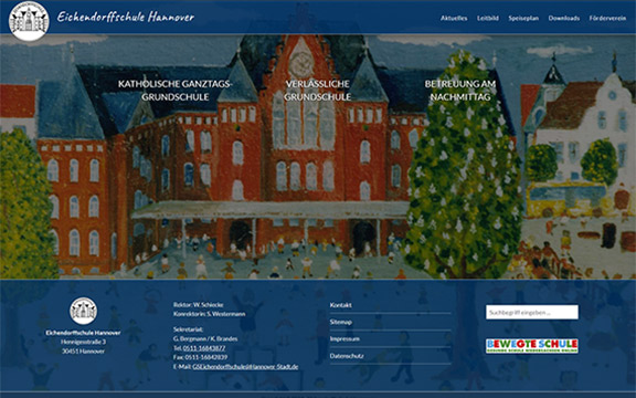 Website eichendorffschule-hannover.de