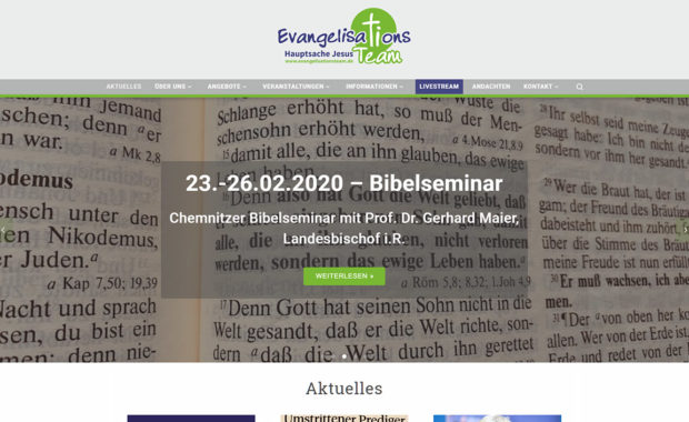 Website evangelisationsteam.de